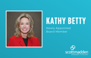 Kathy Betty newly appointed board member